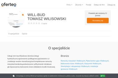 WILL-BUD TOMASZ WILISOWSKI - Klimatyzacja Głuszyca