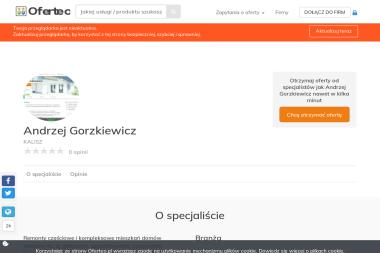 Andrzej Gorzkiewicz - Glazurnik KALISZ