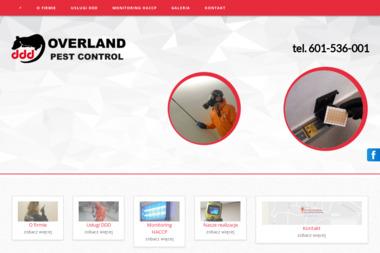 PHU OVERLAND - Czyszczenie przemysłowe Świętochłowice