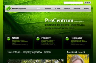 ProCentrum pracownia projektowa - Projektowanie ogrodów Biskupiec