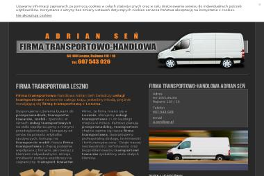 Firma transportowo-handlowa - Przeprowadzki międzynarodowe Leszno