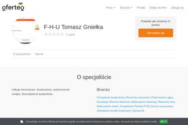 F-H-U Tomasz Gniełka - Elewacje i ocieplenia Imielin