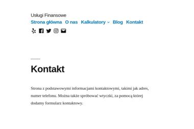 Usługi Finansowe - Leasing samochodu Wrocław