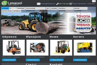 Lemarpol - Wózki Widłowe Sp. z o.o - Wózki widłowe spalinowe używane Warszawa