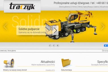 Usługi żurawiem samochodowym - Firmy inżynieryjne Ostrów Mazowiecka