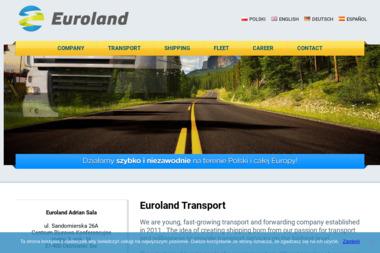 EUROLAND - Przewóz Rzeczy Milejów