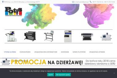 Potis Sp. z o.o - Kserokopiarki Wrocław
