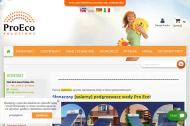 Pro Eco Solutions Ltd. - Kolektory słoneczne Kąty Wrocławskie