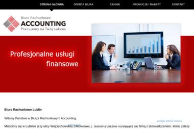 Kancelaria rachunkowo księgowa Accounting - Doradztwo, pośrednictwo Lublin
