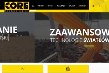 Core Technologies - Dostawcy internetu, usługi telekomunikacyjne Wrocław