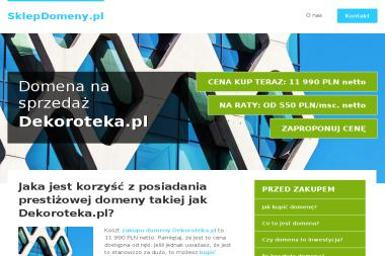 STUDIO ARANŻACJI WNĘTRZ DEKOROTEKA - Projektowanie wnętrz Mińsk Mazowiecki