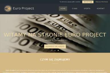 Euro Project - Dofinansowanie na Rozwój Firmy Łódź