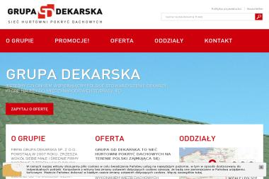 Grupa Dekarska - Skład budowlany Milanówek