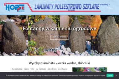 LAMINATY POLIESTROWO SZKLANE - Budowa Basenów Ogrodowych  Żukowo