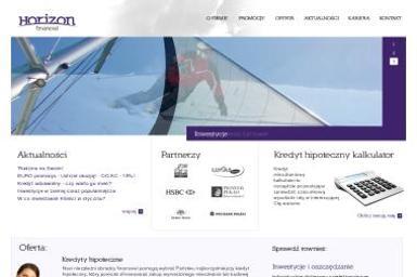 Horizon Financial Sp. z o.o. - Kredyt hipoteczny Radomsko