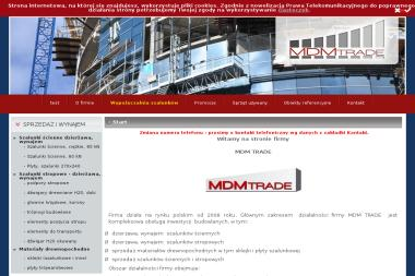 MDM TRADE - Wynajem Minikoparki Cholerzyn
