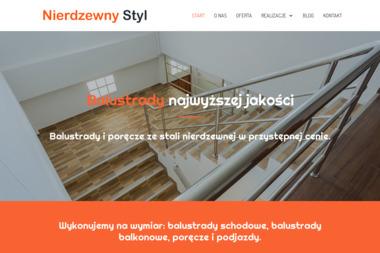 Usługi ślusarskie-spawalnictwo - Balustrady Nierdzewne Nisko