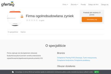 Firma ogolnobudowlana zyniek - Elewacje Slawno
