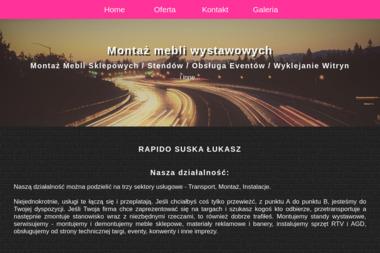 RAPIDO SUSKA ŁUKASZ - Przewóz Osób Serock