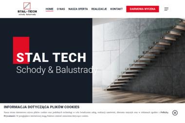Stal-Tech Kraków schody balustrady - Schody Dywanowe Kraków