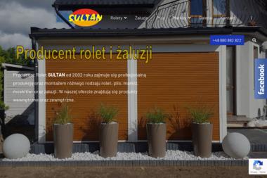 Sultan Producent rolet - Rolety zewnętrzne Reda
