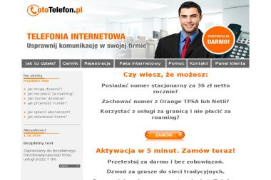 Usługi Internetowe XXIw. Magdalena Pulkowska - Naklejki Rusiec