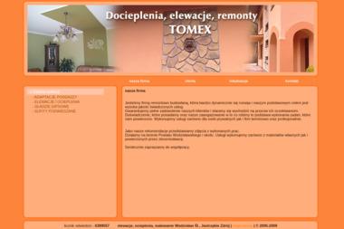 Firma remontowo-budowlana Tomex - Ocieplenie Pianką Syrynia