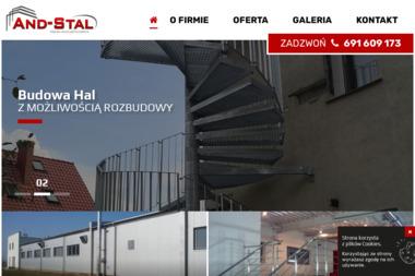 AND-stal - Konstrukcje stalowe Stargard