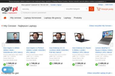 Ogit.pl laptopy komputery - Internet Olsztyn