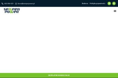 SEMPER POWER SP.ZOO - Biznes plan Krupski Młyn