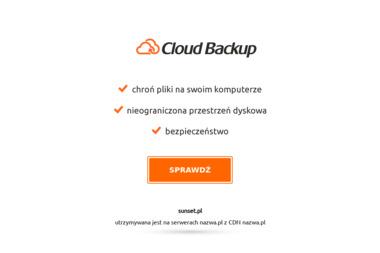 HOTEL SUNSET - Sklep Gastronomiczny STRZEGOWO
