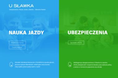 """""""U Sławka""""- Nauka Jazdy. Agencja Ubezpieczeniowa - Szkoła Jazdy Wołomin"""