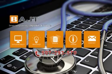 Bajt - Usługi informatyczne - Firma IT Morąg