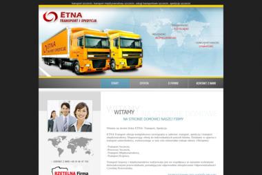 Transport szczecin ETNA transport samochodowy firma transportowa usługi transportowe - Firma Transportowa Szczecin