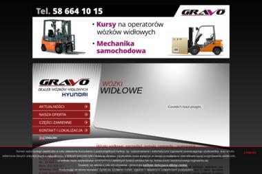 GRAVO Sp. z o.o. - Wózki widłowe Gdynia