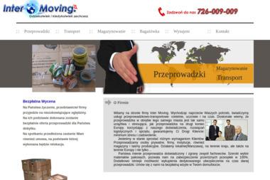 Inter Moving - Transport międzynarodowy do 3,5t Warszawa