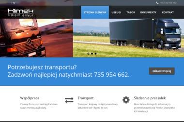 Klimek Transport Spedycja Marcin Klimek - Transport Bagażowy Międzynarodowy  Kraków