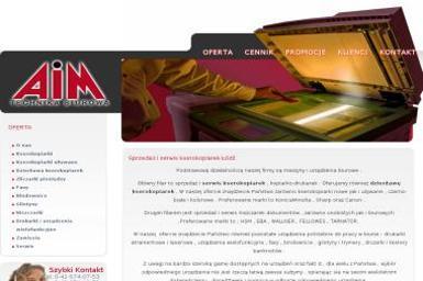 PHU AIM - Serwis sprzętu biurowego Łódź