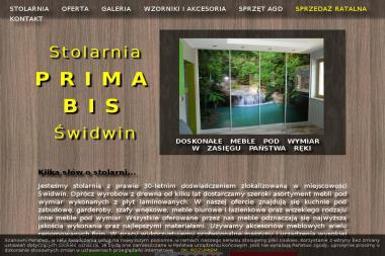 Stolarnia Prima Świdwin - Kuchnie Świdwin