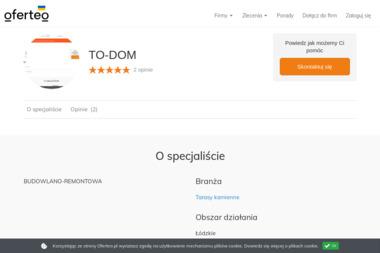 TO-DOM - Firmy ŁÓDZ