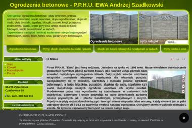 """P.P.H.U.""""EWA"""" Andrzej Szadkowski - Bramy garażowe Żelechlinek"""