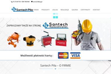 PHU SANTECH - Remonty mieszka艅 Pi艂a