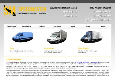 SpeedMaster - Przeprowadzki Gdańsk
