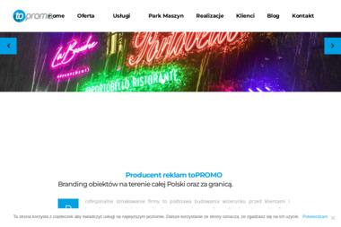 ToPROMO Advertising Group - Projektowanie logo Oświęcim