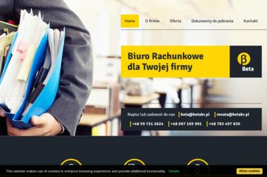 """Biuro Rachunkowe """"Beta"""" Renata Szyca-Diug - Firma konsultingowa Bytów"""