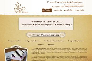 Cukiernio Amalio - Cukiernia Rybnik