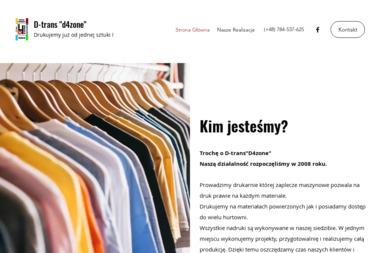 """D-trans""""d4zone"""" - Hafciarnia Wołomin"""
