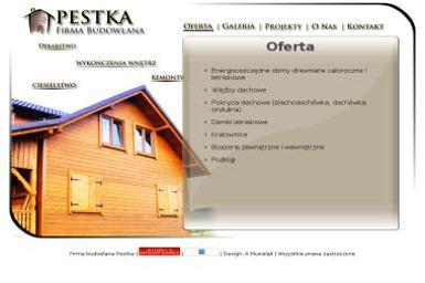 Firma budowlana Pestka - Budowa domów Człuchów