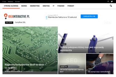Krystian Piątek Idea Interactive - Pozycjonowanie w Google M. Kielce