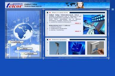 Telcor Usługi Teletechniczne - Sieci komputerowe  Katowice